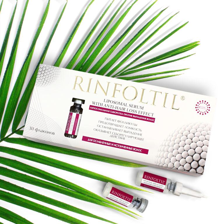 Липосомальная сыворотка Ринфолтил для ослабленных и истонченных волос