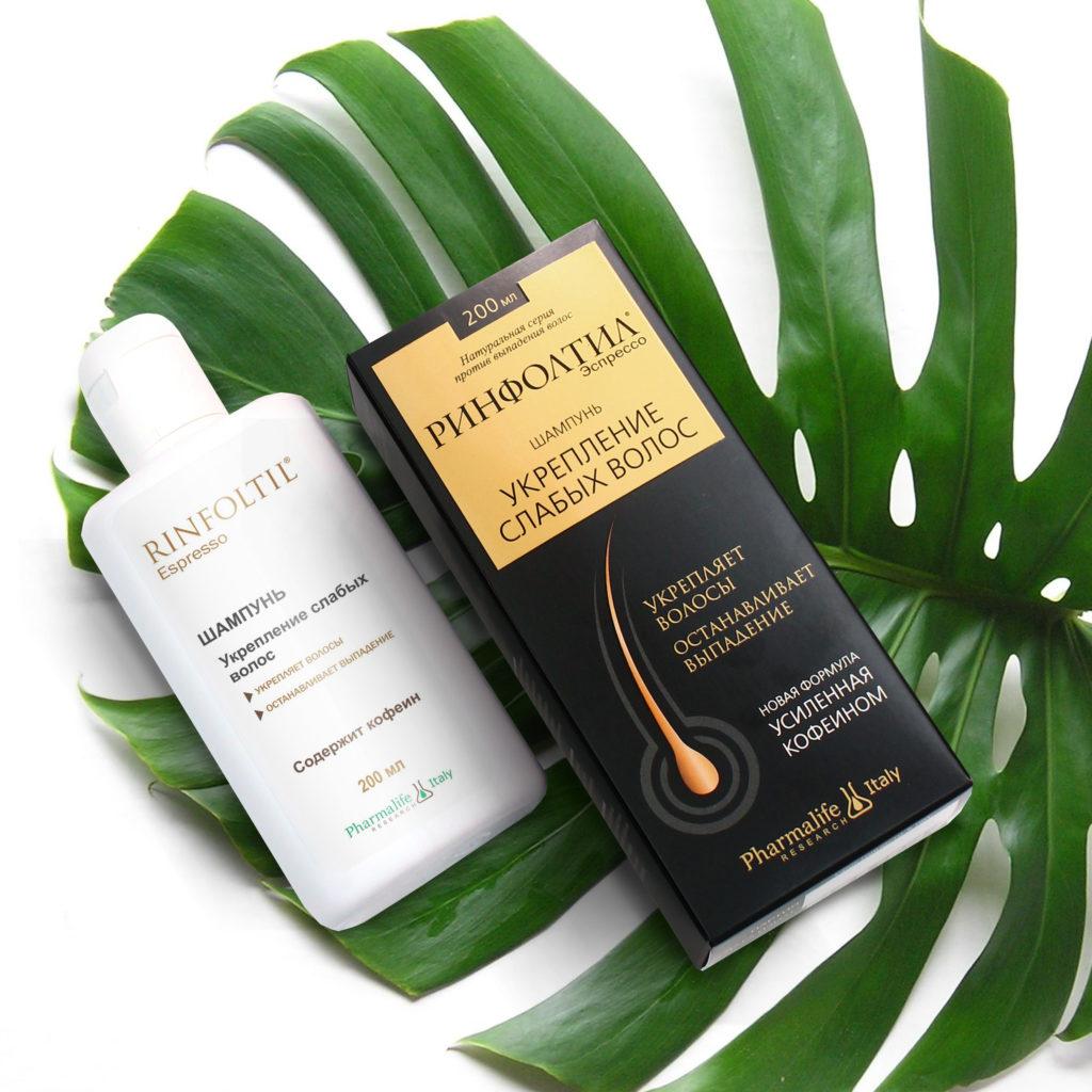 Шампунь Ринфолтил Эспрессо для укрепления слабых волос